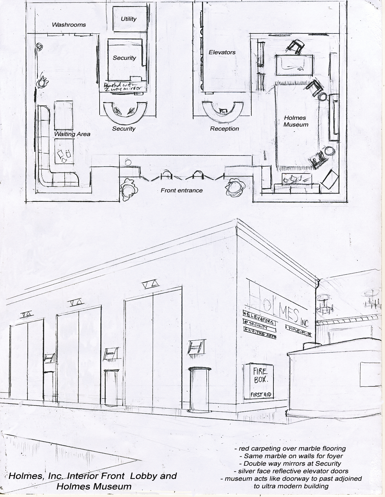 front office layout. holmes inc building layout a fit to print comic experience front office e